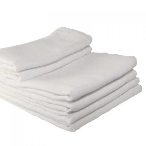 Stofble, den klassiske hvide (5 stk) fra Oopsy