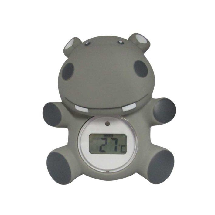Badetermometer flodhest