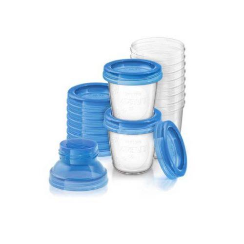 Opbevaringskopper 10 stk af 180 ml fra Philips Avent