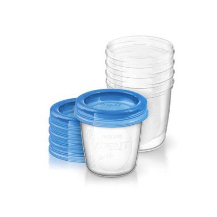 Opbevaringskopper 5 stk af 180 ml fra Philips Avent