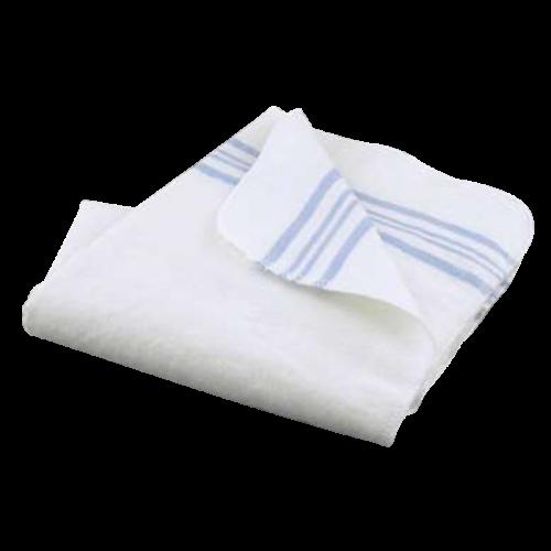 Svøb hvidt med blå stribe, ren bomuld fra Oopsy