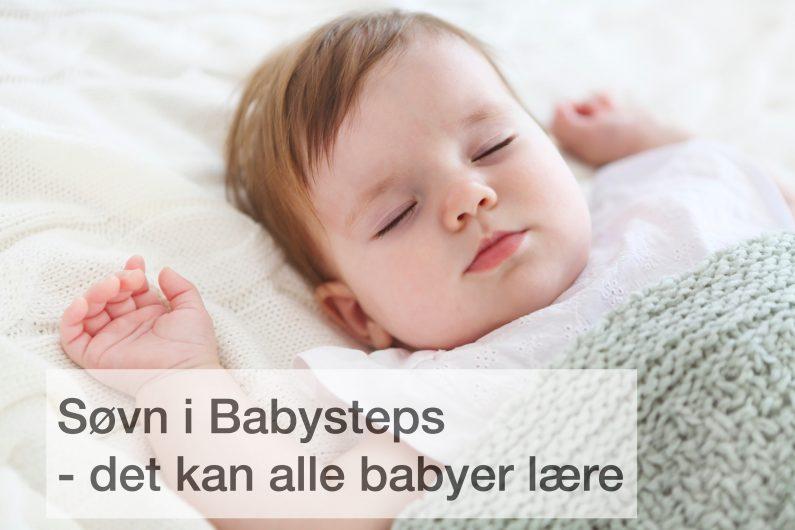 Søvn i Babysteps Sovekursus til babyer der ikke