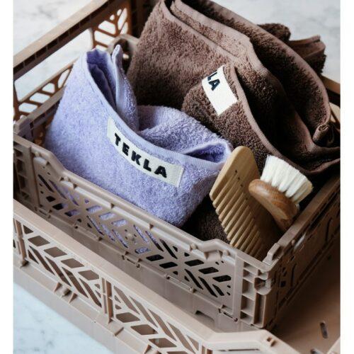 Midi kasse, Warm Taupe fra Ay-kasa