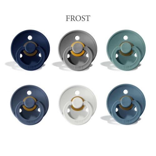 Bibs Colour 6 stk Frost – latex sutter i str. 2