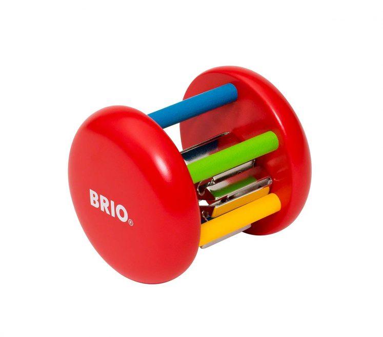 Rangle med klokke fra Brio