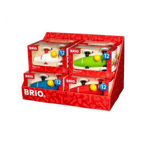 Racerbil i forskellige farver fra Brio