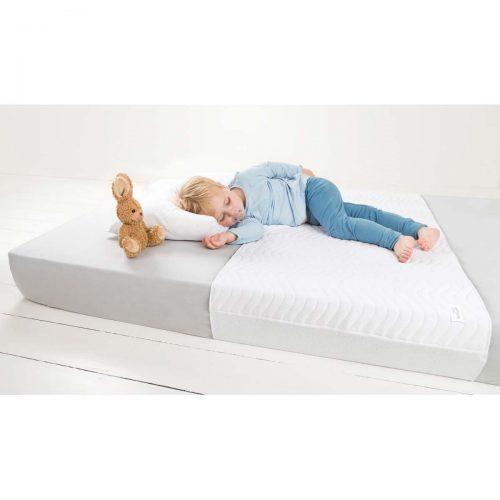Underlag til sengen (gravid, mor, baby, barn) fra Doomoo Basics