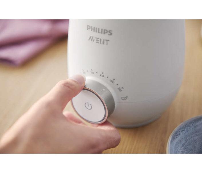 Flaskevarmer (til mælk, mos og mad) fra Philips Avent