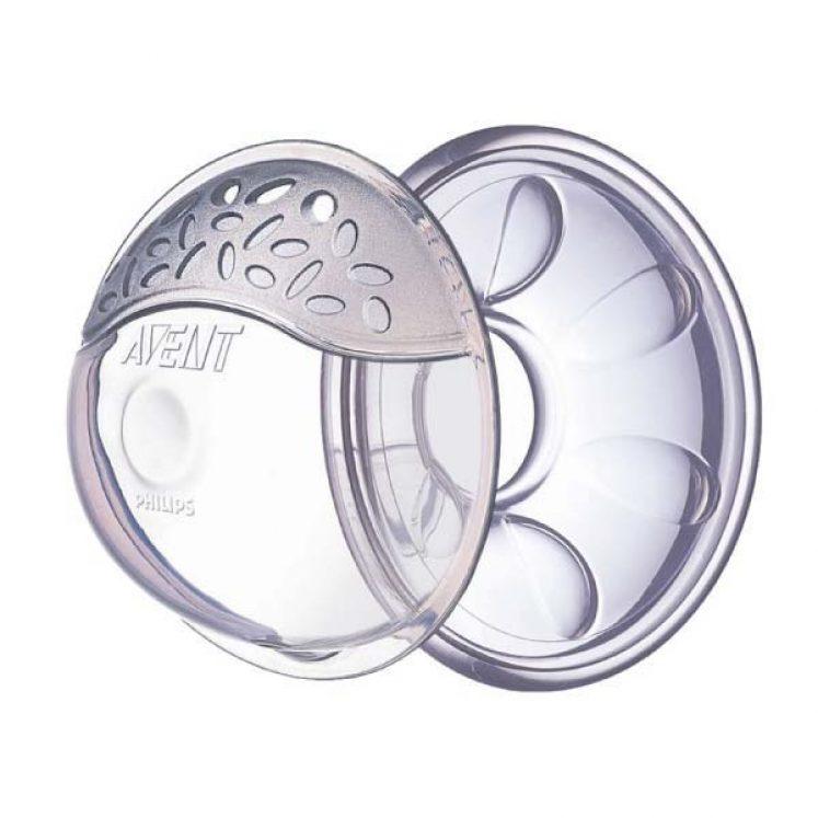 Brystvortebeskyttere og mælkeopsamlingsskaller fra Philips Avent