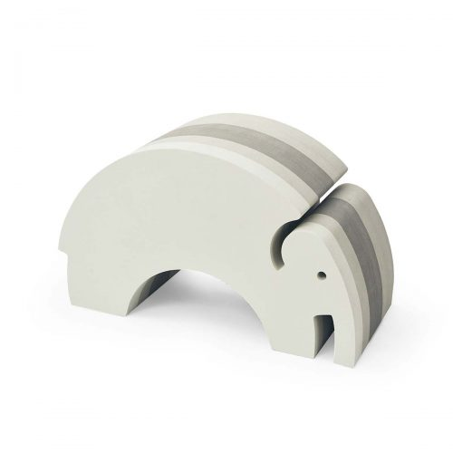 Elefant i grå striber (stor) fra bObles