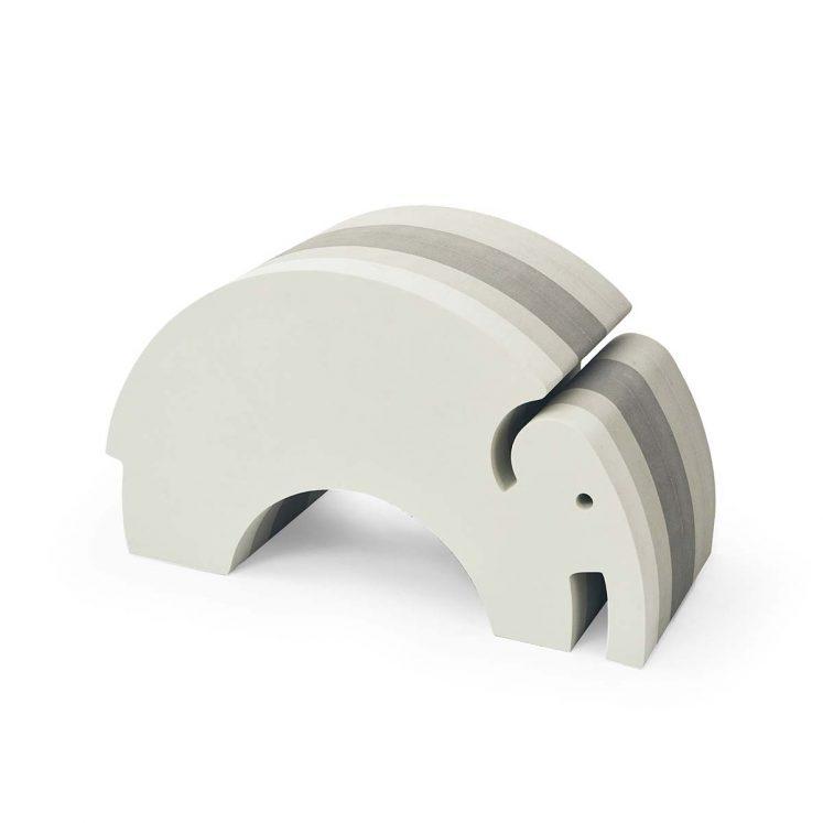 Elefant i grå fra bObles