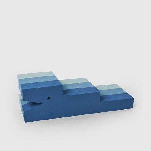 Krokodille i blå farver fra BObles