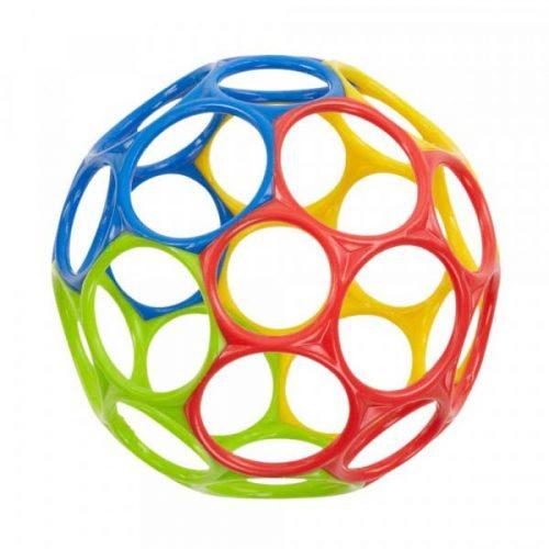 Oball Original Bold i gul, rød, blå og grøn