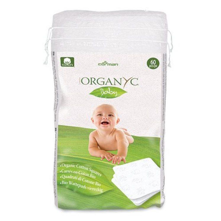 Babypads i øko bomuld, 60 stk pakke fra Organyc