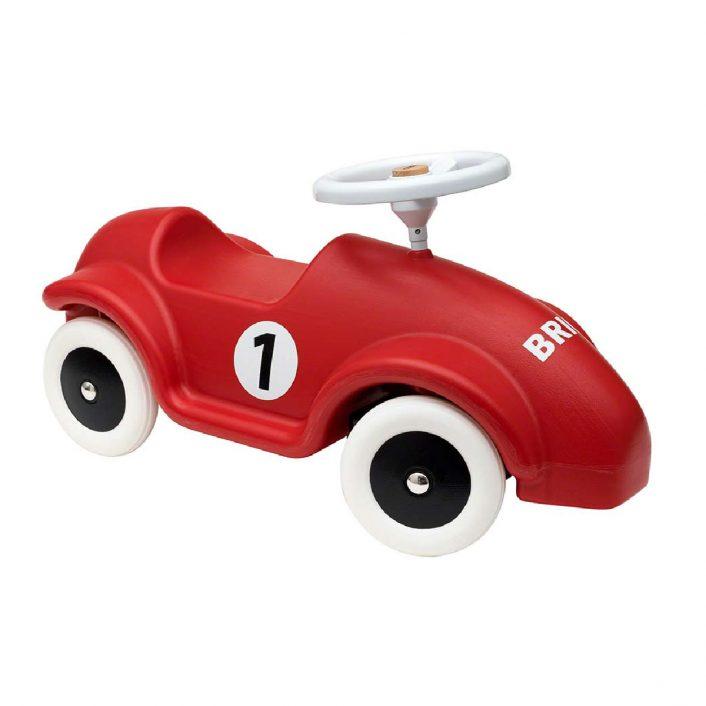 Racerbil i Rød til at køre på (Scooter) fra Brio