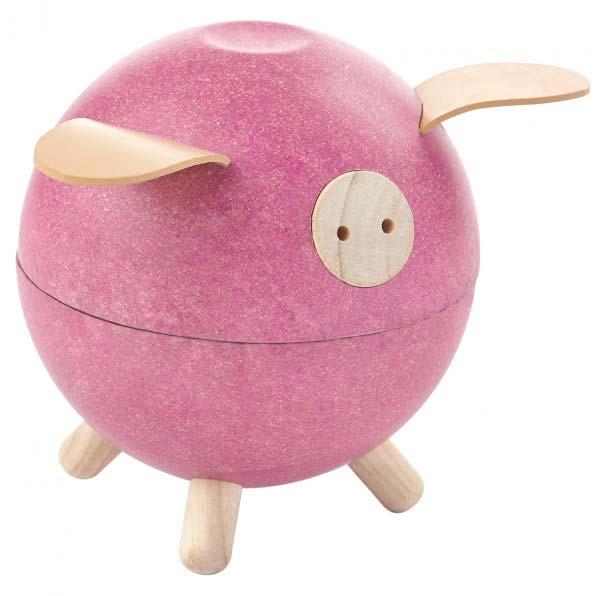 Sparegris, den sødeste lille Gris i Pink fra PlanToys