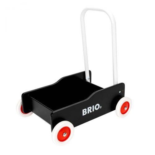 Gåvogn i sort fra Brio