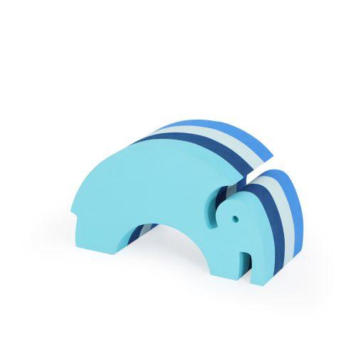 Elefant i blå striber (lille) fra bObles