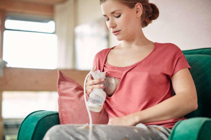 Brystpumpe, elektrisk enkelpumpe fra Philips Avent