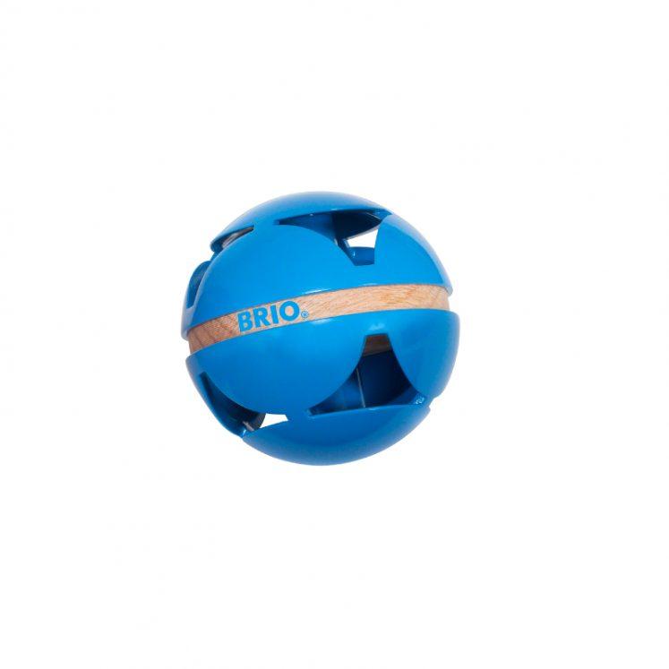 Aktivitetsbold i blå fra Brio