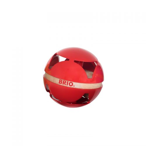 Aktivitetsbold i rød fra Brio
