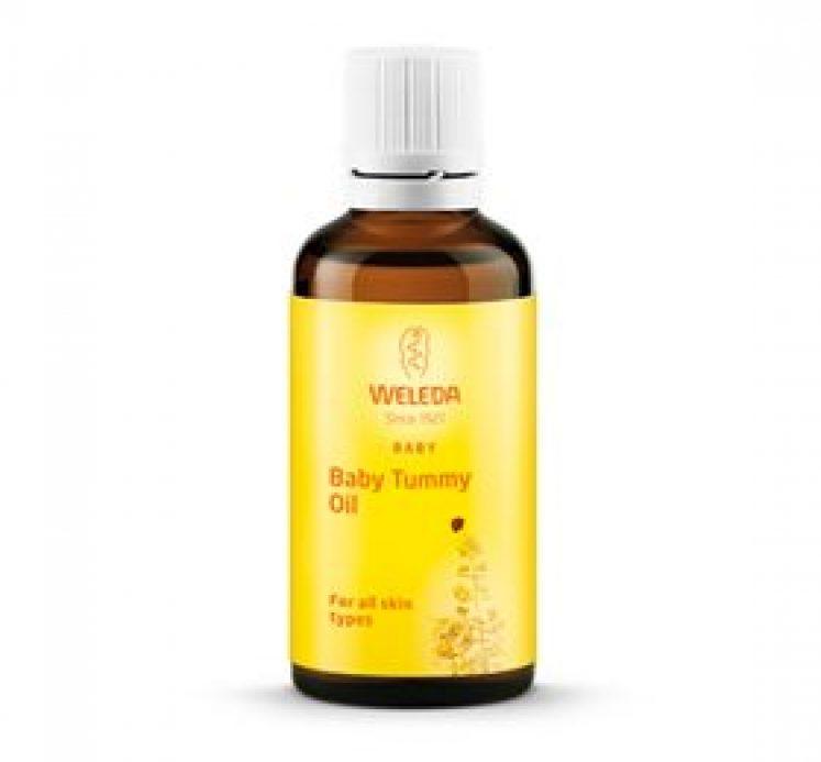 Baby Tummy Oil – Massage olie til sarte babymaver – fra weleda