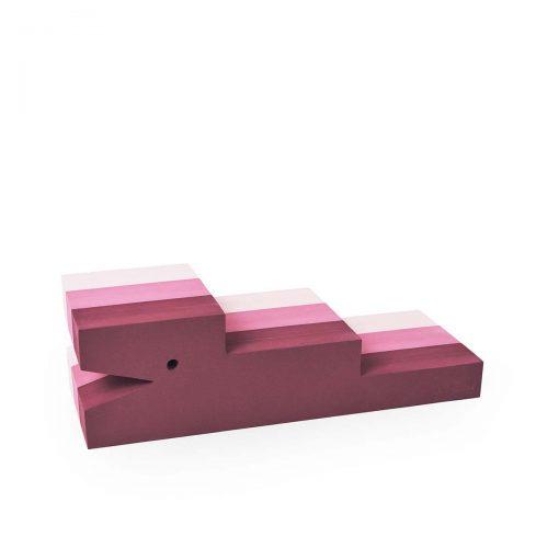 Krokodille med lyserøde striber fra BObles