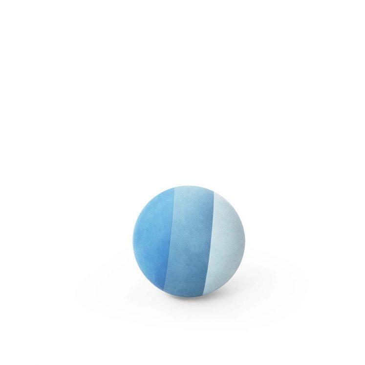 Bold, 11 cm i Blå farver fra bObles