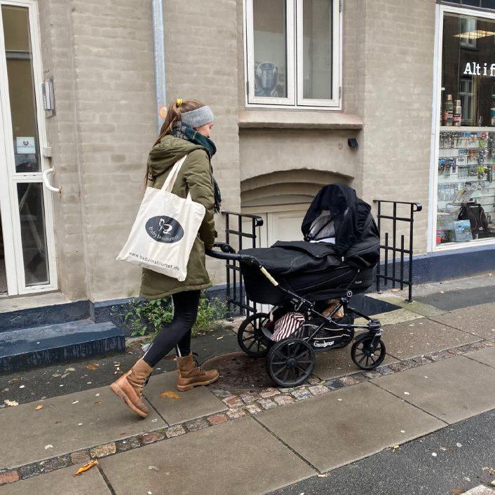 Mulepose fra Baby Instituttet