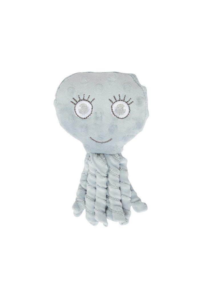 Blæksprutte med sjove arme i blå fra Beyondbun