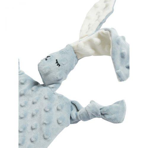 Nusseklud sovende Kanin (lille) i Grå med lange bløde øre fra Elva Senses