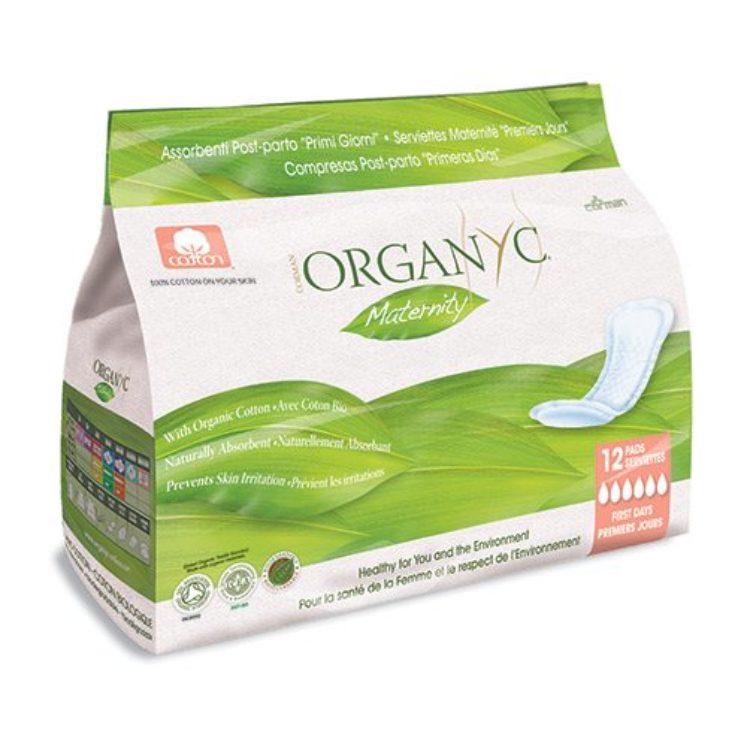 Efterfødselsbind, økologiske fra Organyc