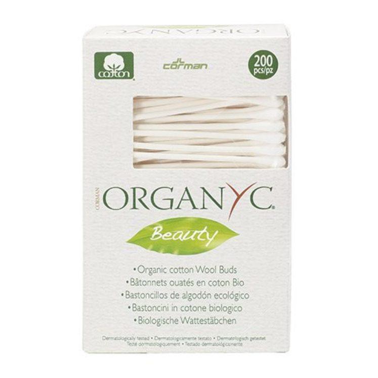 Vatpinde (almindelige) i økologisk bomuld fra Organyc