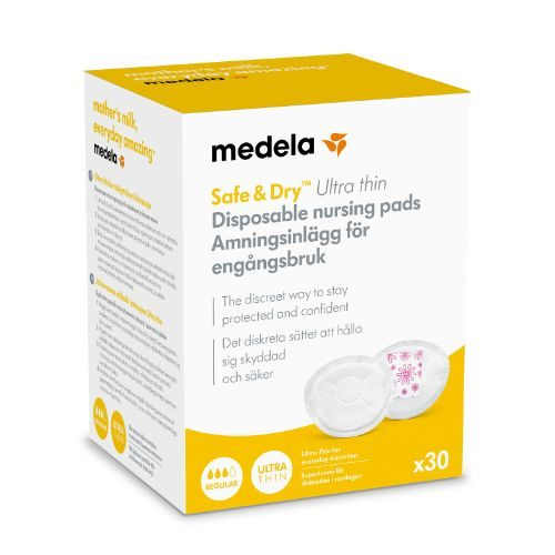 Ammeindlæg ultra-thin engangs 30 eller 60 stk. fra Medela