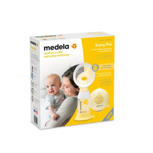 Brystpumpe, elektrisk enkeltpumpe Swing Flex fra Medela