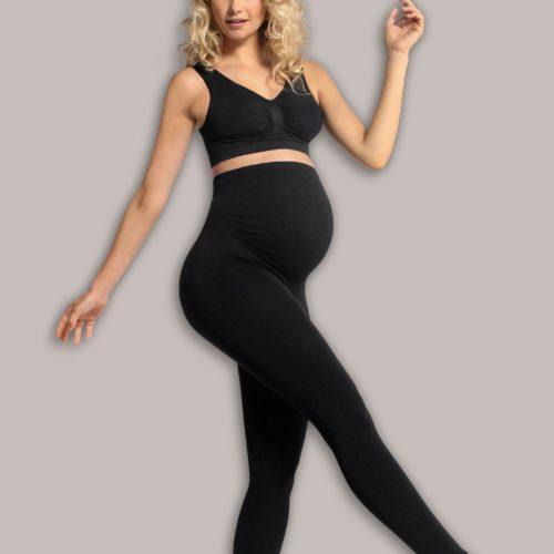 Graviditetsleggings uden sømme fra Carriwell, med støtte