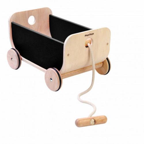 Trækvogn i træ fra Plan Toys