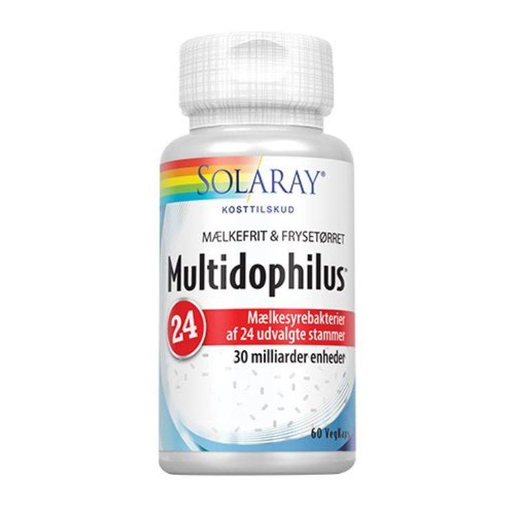 Multidophilus 24, mælkesyrebakterier fra Solaray