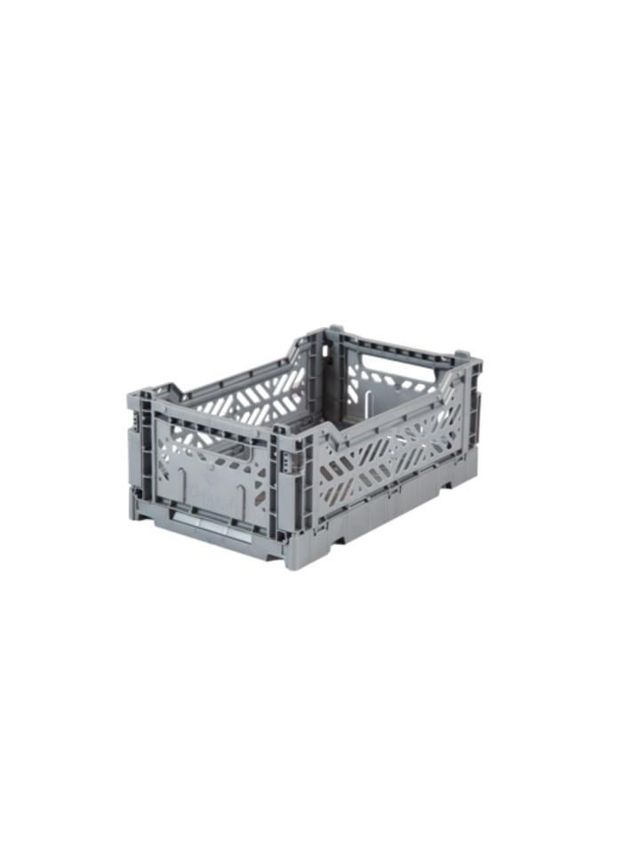 Ay-kasa mini kasse i farven grey