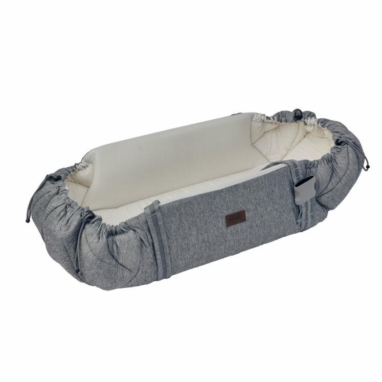 Babynest Sleep carrier, grå meleret fra Najell