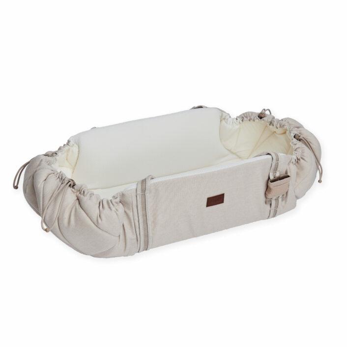 Babynest Sleep carrier, sandfarvet fra Najell