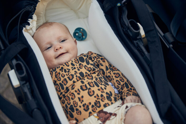 Babynest Sleep carrier, sort fra Najell
