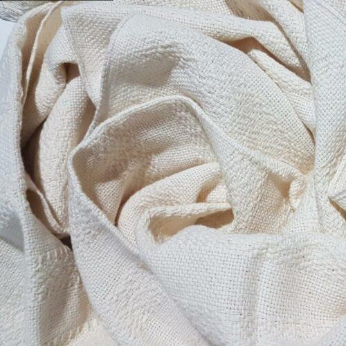 Rebozo sjal i råhvid, fra Mexico 2,5 m
