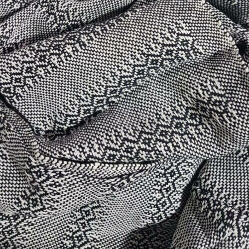 Rebozo sjal i sort, fra Mexico 2,5 m