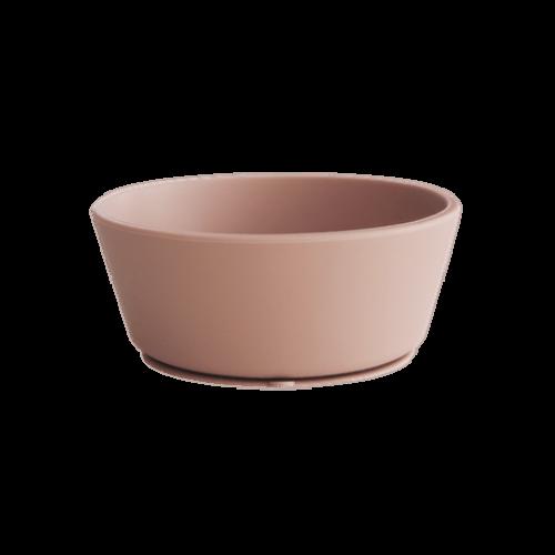 Silikone skål med sugekop i Blush fra Mushie