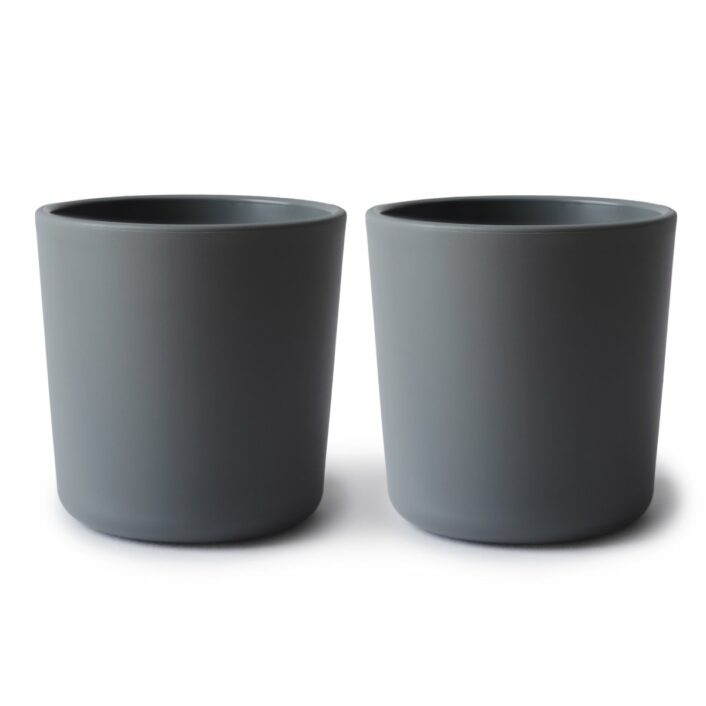 Kopper i Mørk grå, 2 stk. fra Mushie