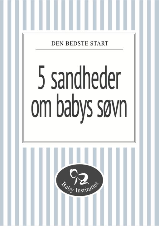 Minibog om babys søvn