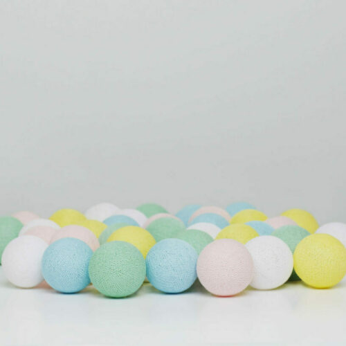 Lyskæde med bolde i Fairytale fra Iris lights, 20 stk.
