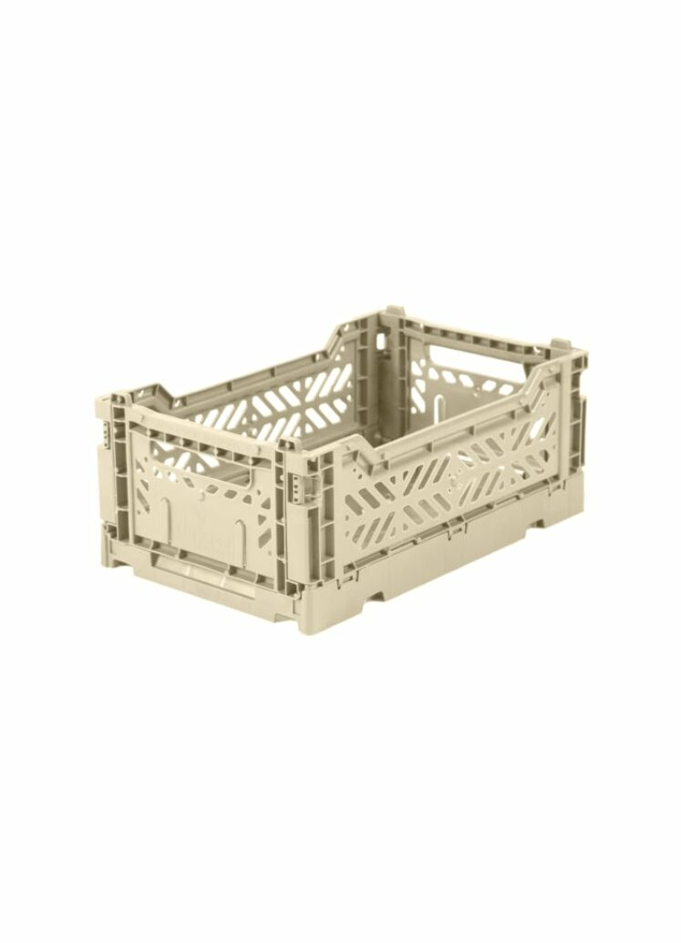 Mini kasse, Boulder (beige) fra Ay-kasa