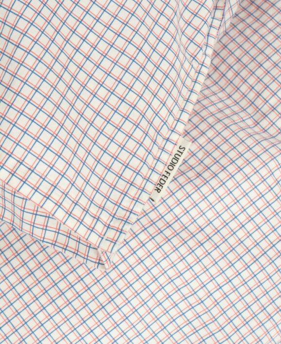 Sengetøj til baby, French Check fra Studio Feder